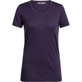 Icebreaker Tech Lite SS Low Rundhalsshirt Damen lotus